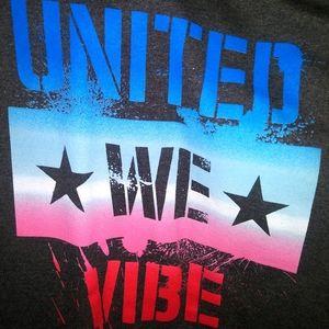 United We Vibe T-shirt